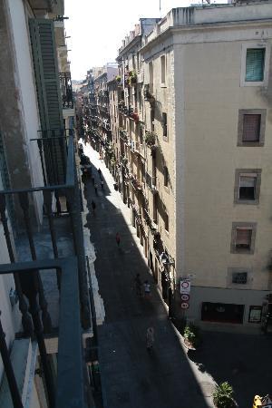 Hotel Ciutat Vella: Vista dalla camera 406