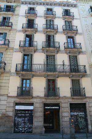 Hotel Ciutat Vella: Facciata dell'Hotel