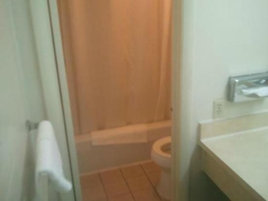Econo Lodge North : Bathroom