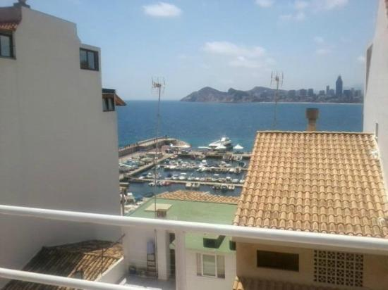 Hotel Rocamar: One of the fantastic views from the roof terrace of the hotel.
