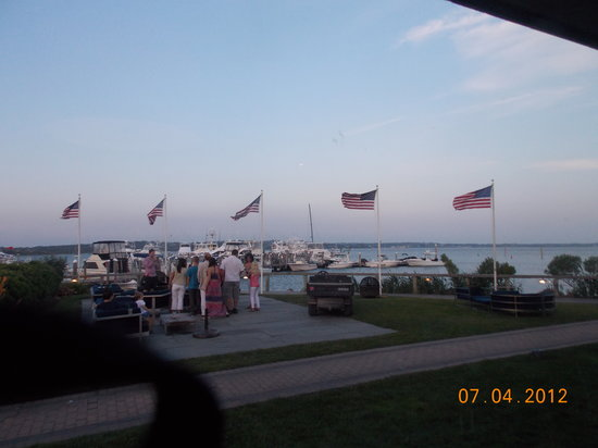 Coast Kitchen: view from dinning room