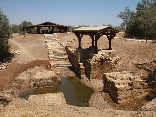 Região do Mar Morto, Jordânia: Jesus' Baptism Site