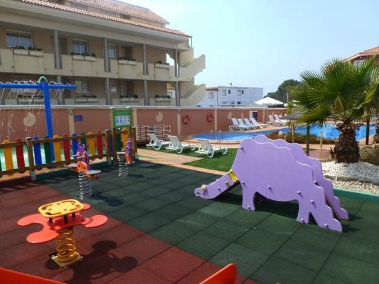 Apartamentos Playa Mar: Parque infantil