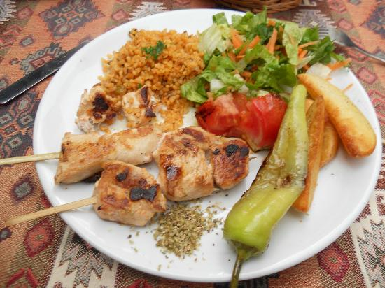 Old House Restaurant : brochette poulet