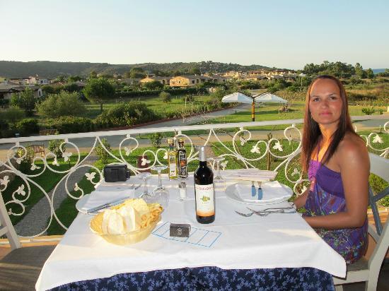 Hotel I Corbezzoli: Abendessen