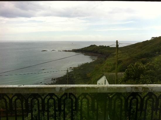 YHA Coverack: View from dining room window.