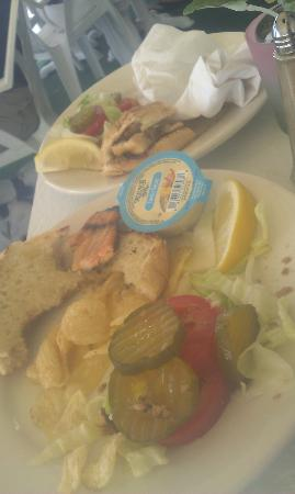 blue water inn restaurant: Dogfood