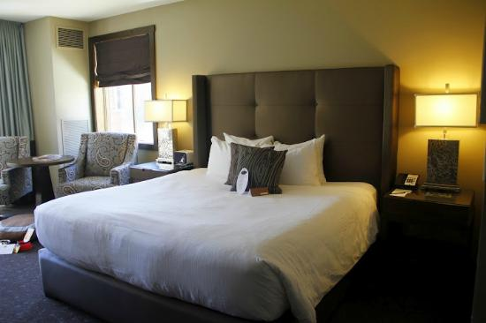 The Oxford Hotel: Super comfy bed