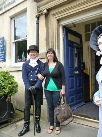 The Regency Tea Rooms: Doorman