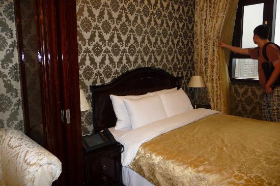 Hotel Artnouveau Seocho: Bed