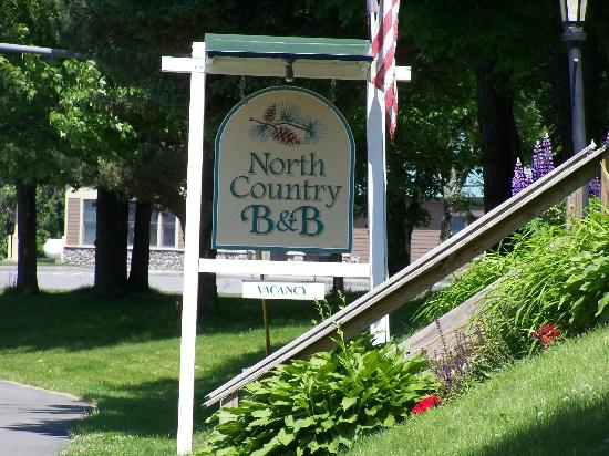 North Country Inn B&B: b&b from street