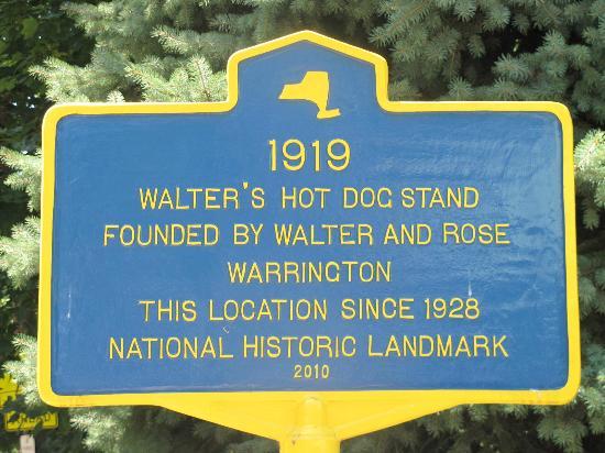 Walter's: Historic marker