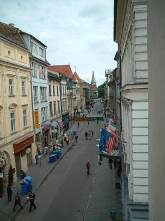 Saski Hotel: view from room 2005