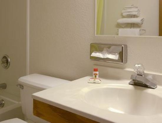 Super 8 Pulaski: Bathroom