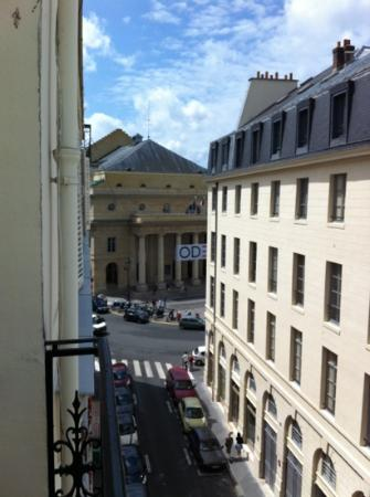 Grand Hotel des Balcons: view from our room!