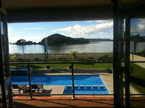 Kingsgate Hotel Autolodge Paihia : view from room 301