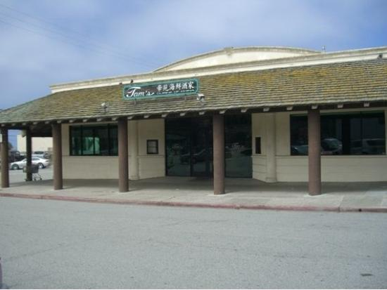 Tam's Cuisine of China : Tam's Cuisine, Pacifica, CA, front of building, 1 block from ocean