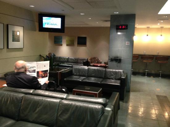 VIA Rail Canada Montreal Station Business Class Lounge