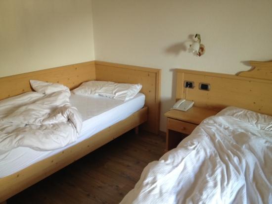 Hotel Rosa Alpina: letti