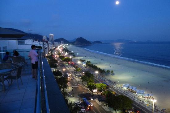 Arena Copacabana Hotel: Vista