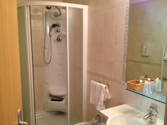 Il nostro comodo letto foto di hotel rosa alpina andalo tripadvisor - Bagno con doccia ...