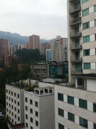 Novelty Suites Hotel : vista de Medellin desde el Novelty