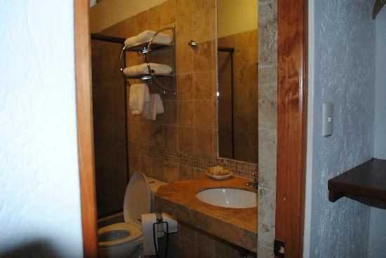 El Molino Hotel & Restaurante: Baño