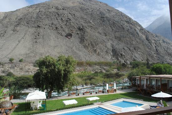 El Molino Hotel & Restaurante: vista desde el restaurante