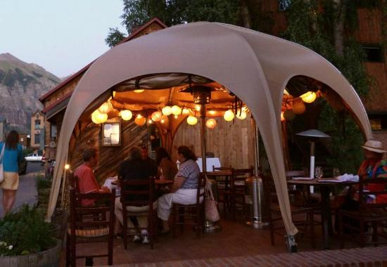 Undercover Outdoor Dining At La Marmotte