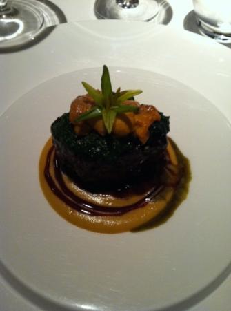 Japanese Beef Tenderloin with Sea Urchin