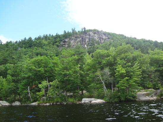 Bear Mountain Inn: View from Bear Pond