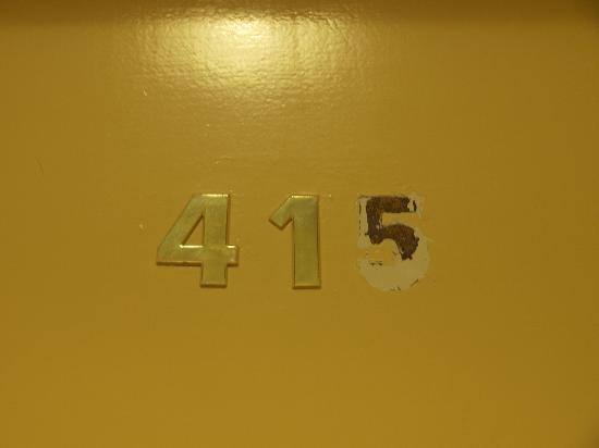 Hotel Pacific: Unsere Zimmertür