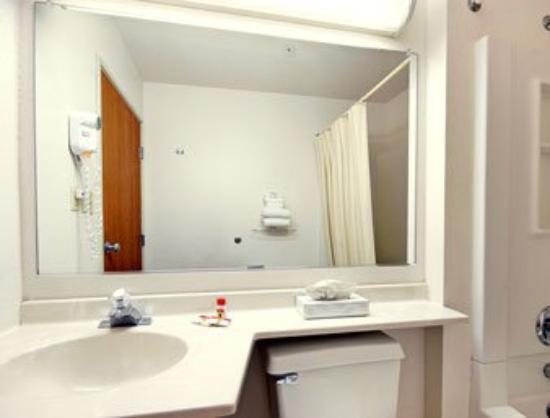 Super 8 Canonsburg/Pittsburgh Area: Bathroom