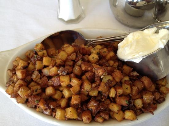 The Grand Oak Steakhouse & Bar: farm potatoes