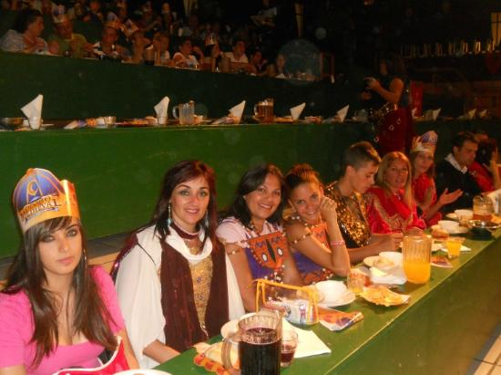 Dinner-Show: Medieval Challenge: Espectadores