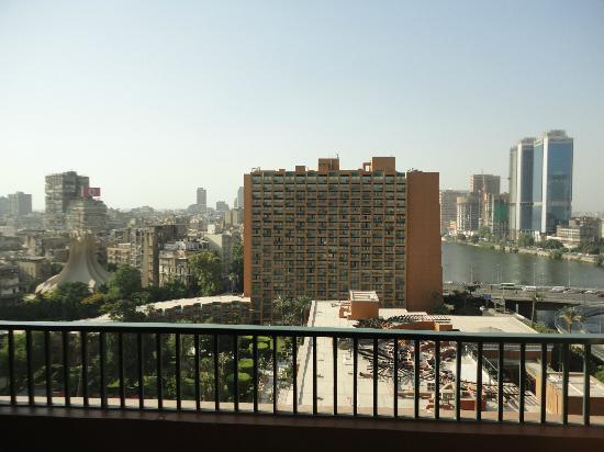 Cairo Marriott Hotel & Omar Khayyam Casino: Balcony view