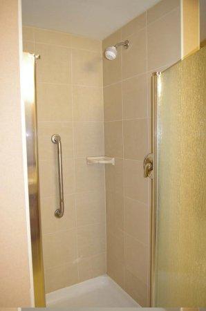Hampton Inn Sudbury: Bath separate shower