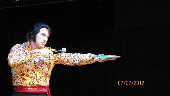 The Five Star Theatre: A Tribute to Elvis, performed by Tony Witt