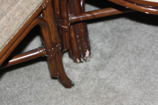 Dust/Mold Spores On Furniture - Picture Of Bahama Bay Resort