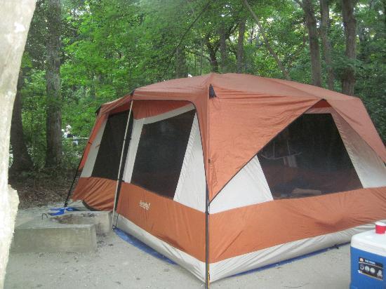 Seashore Campsites & RV Resort : site A2