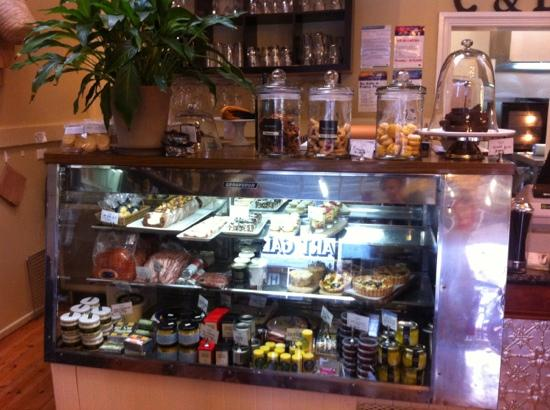 Say Grace Cafe & Larder: just a few more delicious house made treats and yummy cheeses they have to offer !