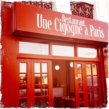 Une Cigogne 224 Paris 10e Arr Entrep 244 T Restaurant