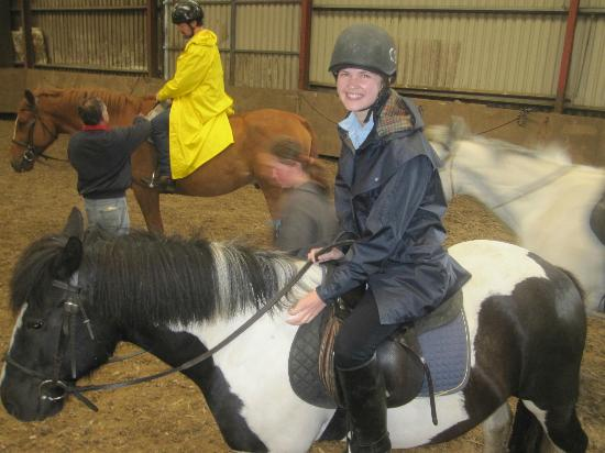 Clare Equestrian Centre: Mary enjoyed her ride