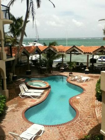 SunBreeze Suites: View from room