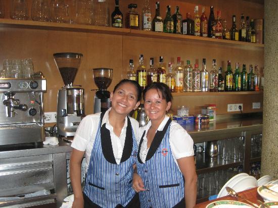 Hotel Flora Parc: en el restaurant