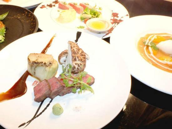 President Resort Karuizawa: 料理例