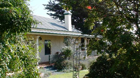 Seaview Lodge Hotel: View through garden