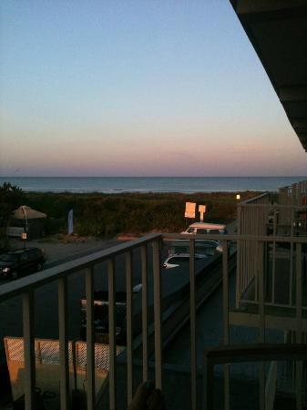 Avalon, Nueva Jersey: Ocean view from our balcony.