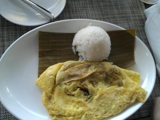 Cafe Sambal: thai omelet