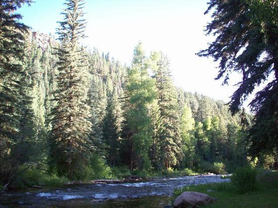 cabins cherry co cabin x in mountain a at photo creek durango colorado of ranch